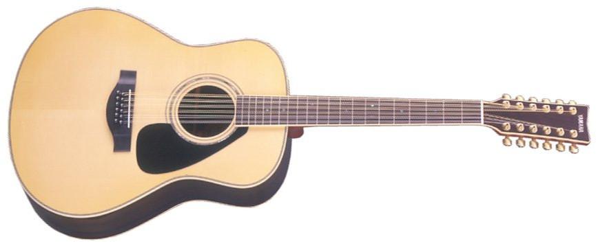 Natural Gloss Jumbo 12-String Acoustic Guitar