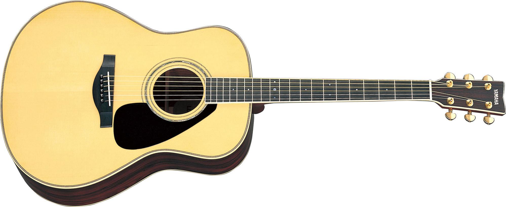 Jumbo Acoustic Guitar, Natural Gloss Finish