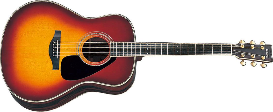 Sunburst Jumbo Acoustic Guitar