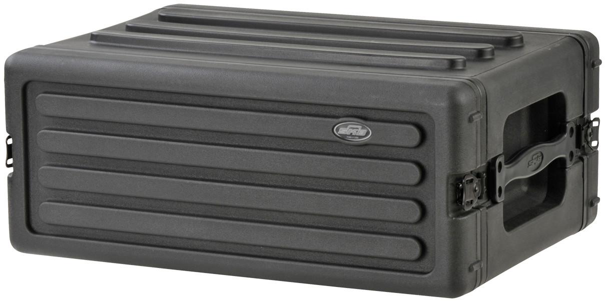 SKB Cases 1SKB-R4S 4RU Roto-Molded Shallow Rack Case 1SKB-R4S
