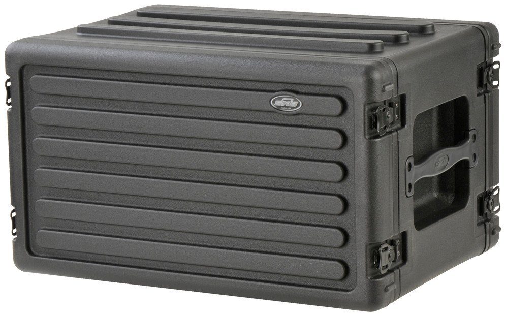 6RU Roto-Molded Shallow Rack Case