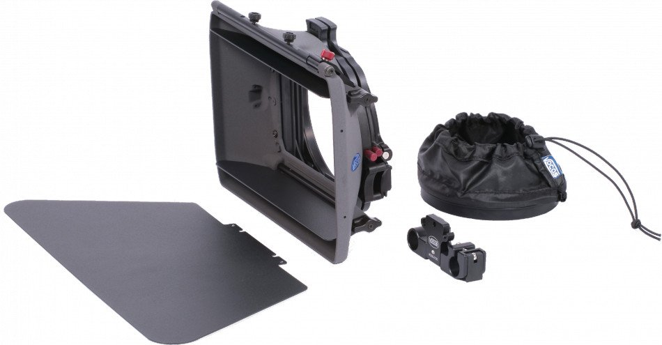 MB-255 Matte Box Kit with 15mm Lightweight Bars Adapter