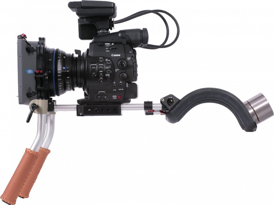 Handheld Kit with 15mm Rails for Canon EOS C100 , C300 , C500