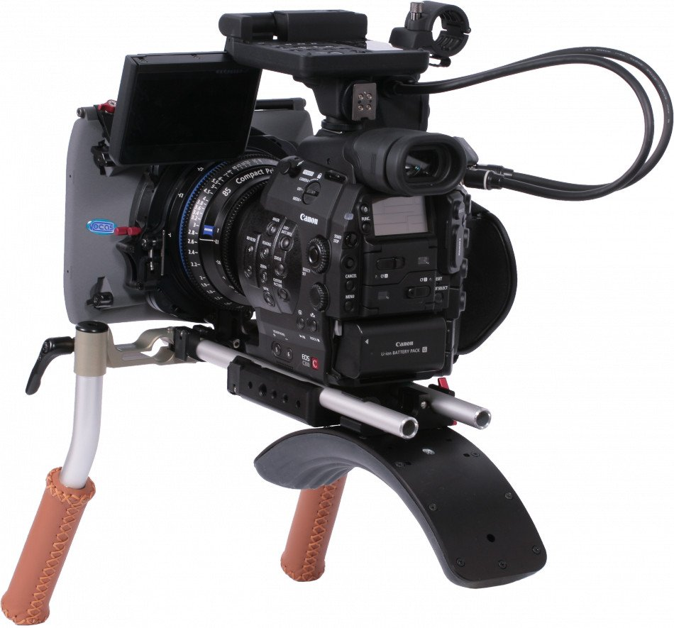 Handheld Kit for Underneath Canon EOS C100 , C300 , C500