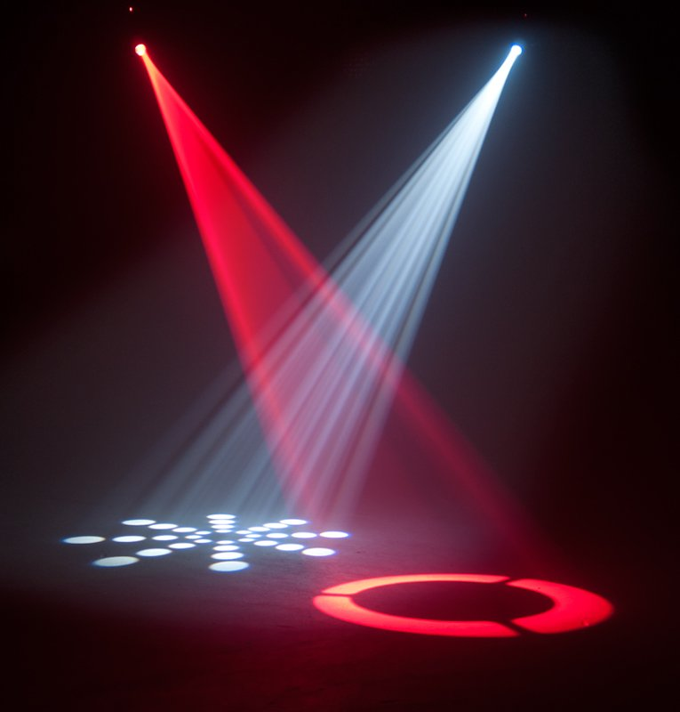 Compact Moving Head LED Spot Fixture