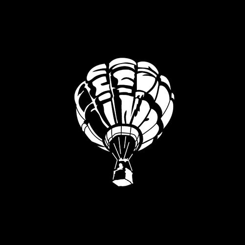 Steel Gobo in Aircraft Hot Air Balloon Pattern Design