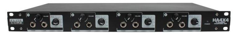 Elite Core 4 Channel Headphone Amplifier
