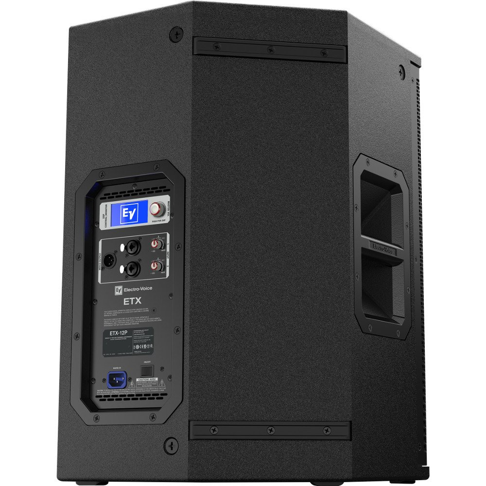 """12"""" 2-Way 2000W Powered Speaker with Onboard DSP and 90° x 60° Dispersion"""