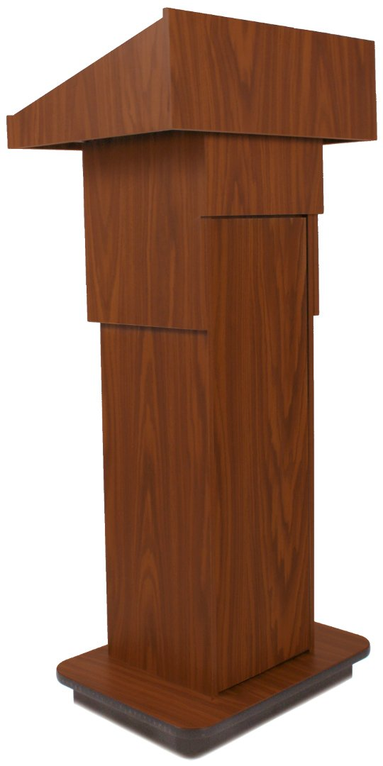 "39"" - 45"" Executive Adjustable Column Lectern without Sound System"