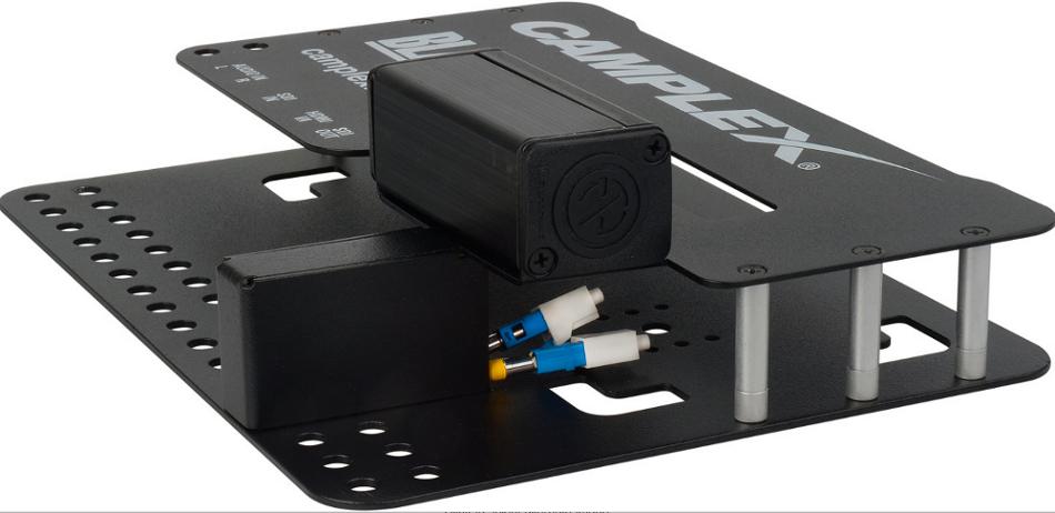 Camera Mount Neutrik opticalCON Interface for Blackmagic ATEM Camera Converter