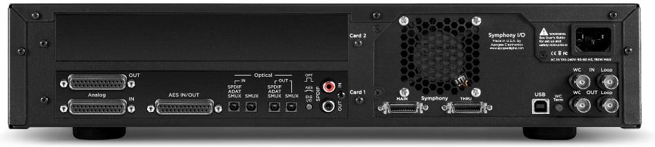 8x8 Analog I/O + 8x8 AES/Optical I/O Audio Interface
