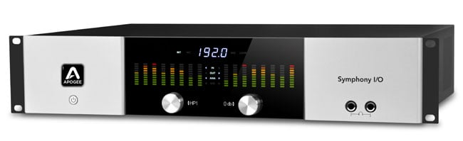 Modular Multi-Channel Audio Interface with 8x8 Analog and Digital I/O and 8 Microphone Preamplifiers