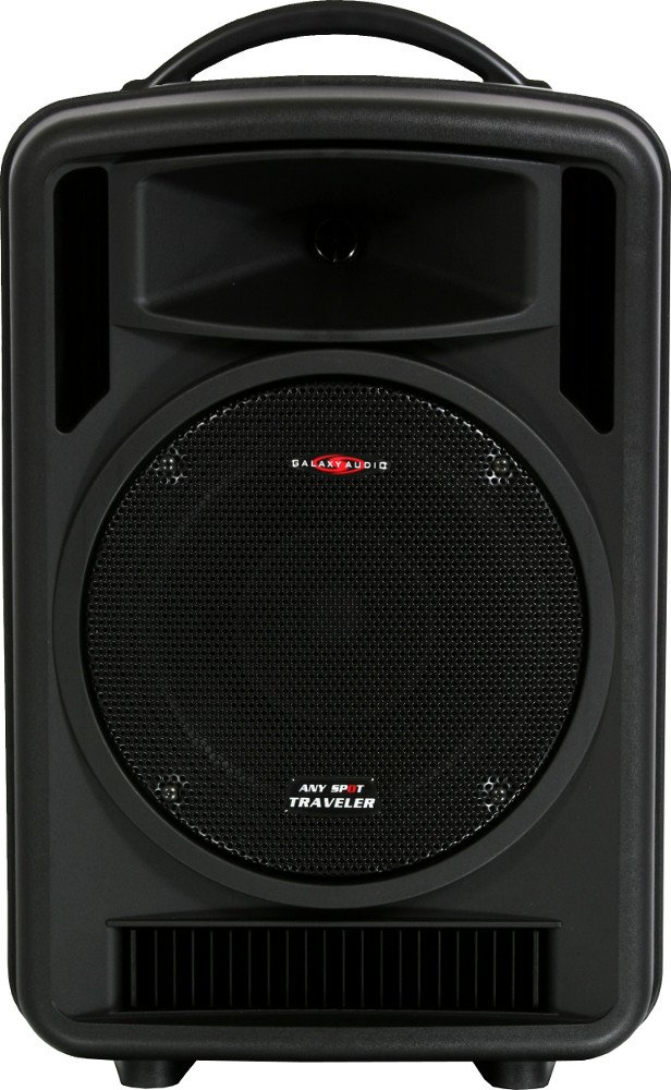 Any Spot Traveler 10 Wireless Portable PA System with Handheld Microphone