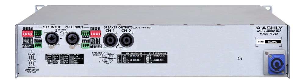 2 Channel 400W 4 Ohm Power Amplifier