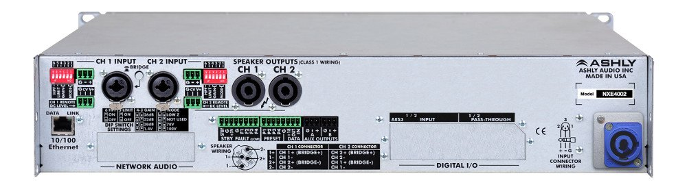 2 Channel 400W Network Power Amplifier