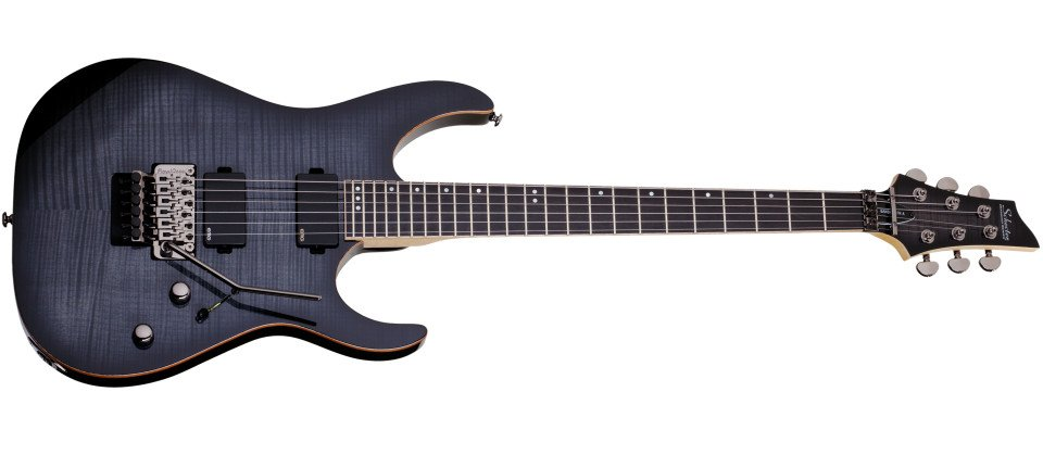 Electric Guitar with Floyd Rose Bridge