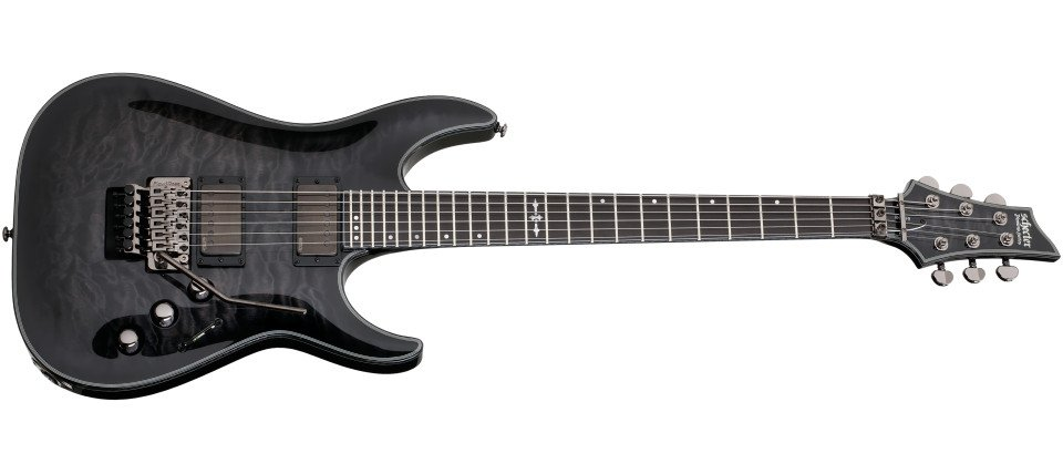 Trans Black Burst Electric Guitar with Floyd Rose Bridge