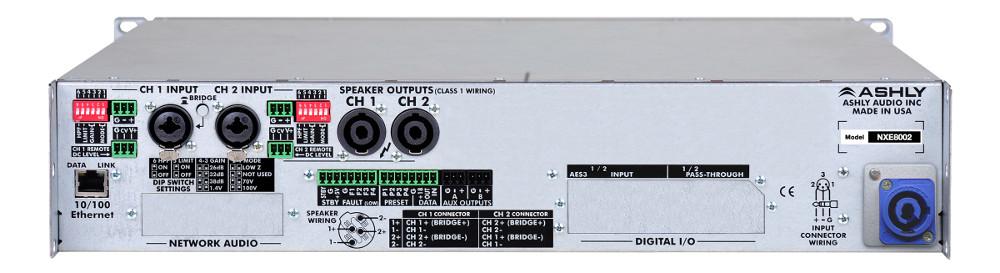 2 Channel 800W Network Power Amplifier