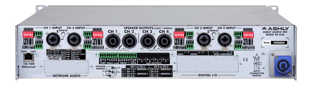 4 Channel 800W Network Power Amplifier