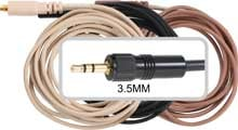 Replacement Cable with 3.5mm Connector for Sennheiser Devices