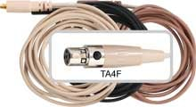 Replacement Cable with TA4F Connector for Shure Devices