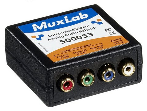 VideoEase Component Video / Analog Audio Female Balun