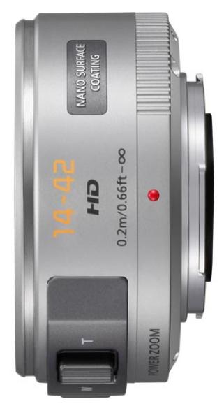 LUMIX G X VARIO PZ 14-42mm - F3.5-5.6 ASPH. - POWER O.I.S. in Sil