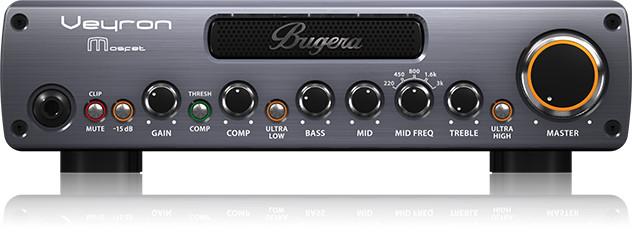 2000W Bass Amplifier Head