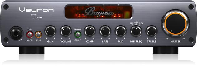 Bugera Veyron T 2000W Tube Bass Amplifier Head BV1001T