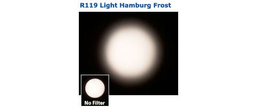 "20"" x 24"" Sheet of Roscolux Light Hamburg Frost Filter"