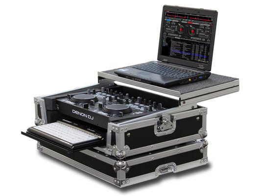 Case for the Denon DNMC6000 Includes Laptop Holder