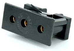 Snap In Female Stage Pin Panel Mount Connector