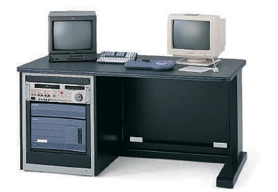 Single Rack Cabinet Edit Desk