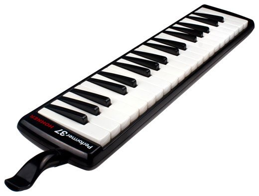 37-Key Melodica in Black with Gig Bag