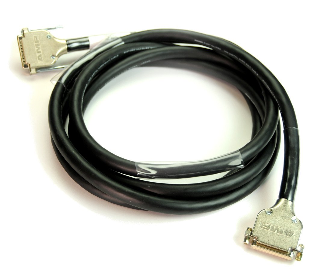 10 ft 8-Channel DB25 Male to DB25 Male Cable for Tascam