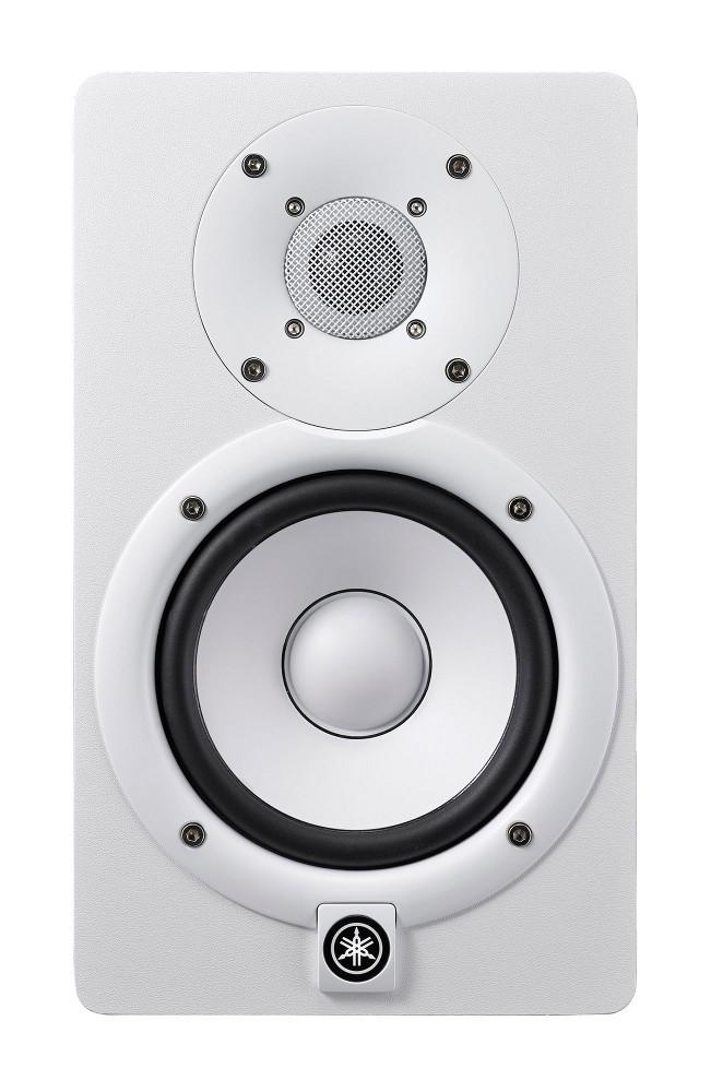 "Powered 5"" Bi-amped Near Field Studio Monitor in White"