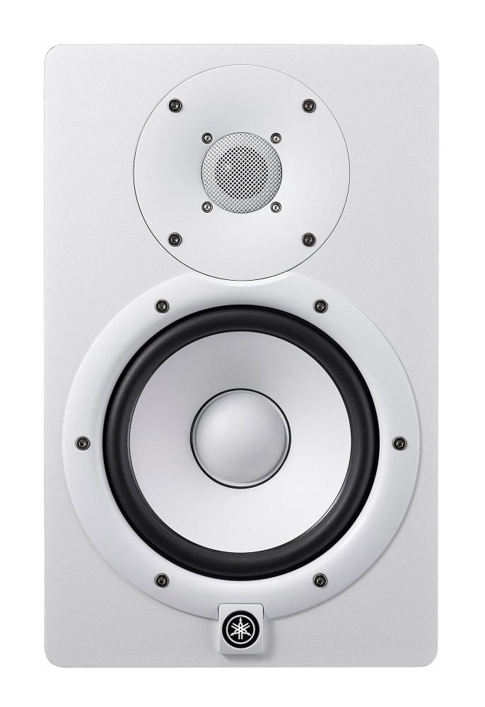 "Yamaha HS7W Powered 7"" Bi-amped Nearlfied Studio Monitor in White HS7W"