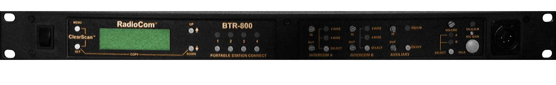 UHF Radiocom Base, 4 Pin Male