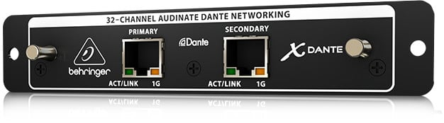 Behringer XDANTE 32-Channel Dante Expansion Card the X32 Digital Mixer |  Full Compass