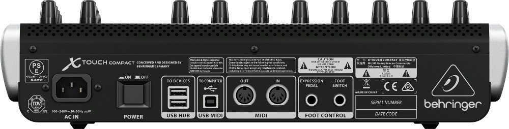 Universal USB/MIDI Controller with 9 Faders