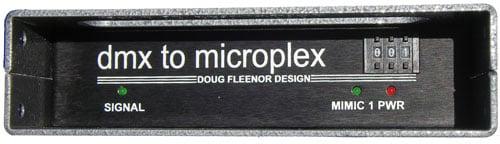 DMX to Microplex Converter