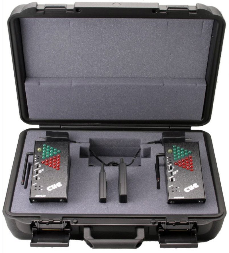 Wireless Cue Light Prompter Kit with Case