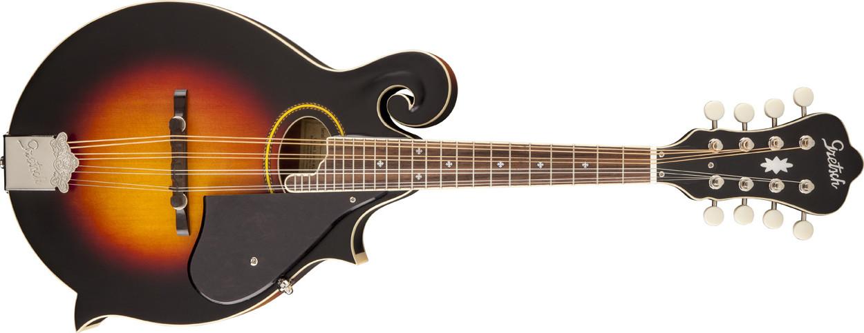 Vintage Sunburst Roots Collection F-Style Acoustic/Electric Mandolin