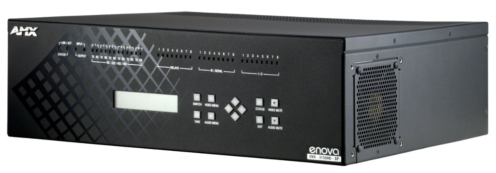 DVX-3155HD-SP 2x25W 8 Ohm 10x4 All-In-One Presentation Switcher