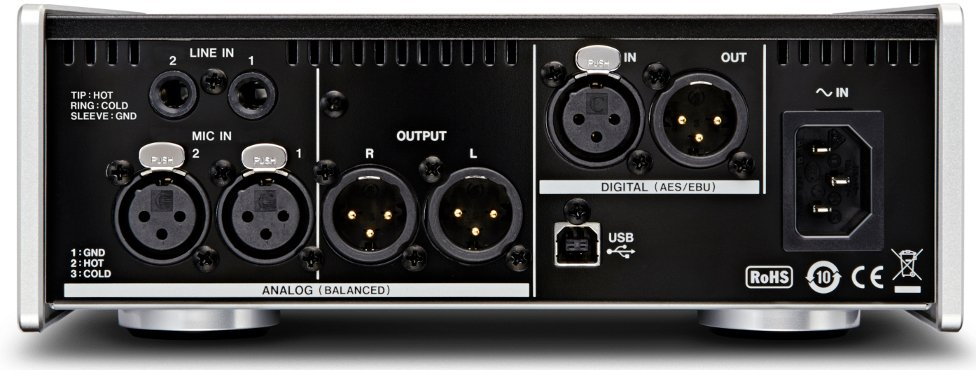 2 Channel USB Audio Interface and Microphone Preamp