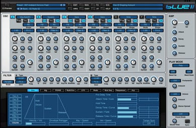 Synthesizer Virtual Instrument Upgrade from v1