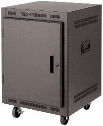 """Lowell LPR1427PGT  14RU 27"""" Deep Portable Rack LPR1427PGT"""