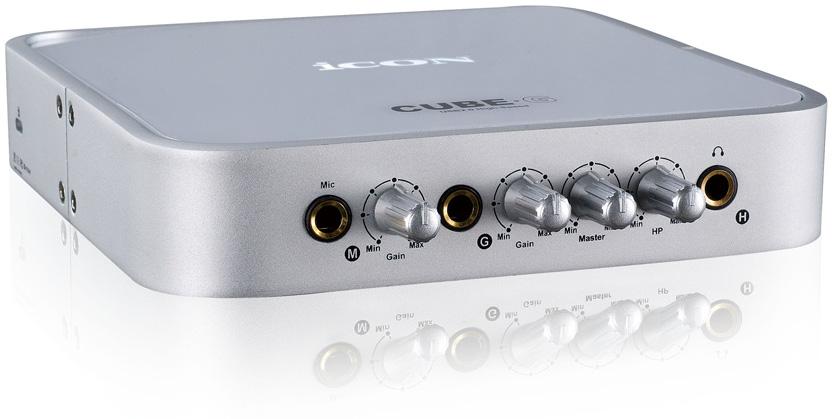 USB Audio Interface with Guitar Input