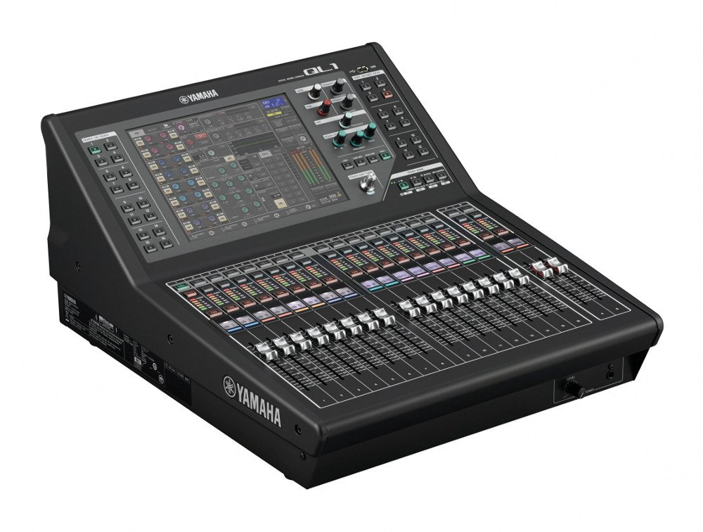 16-Input. 8-Output Digital Mixing Console with Dante Networking and Dugan Automixing