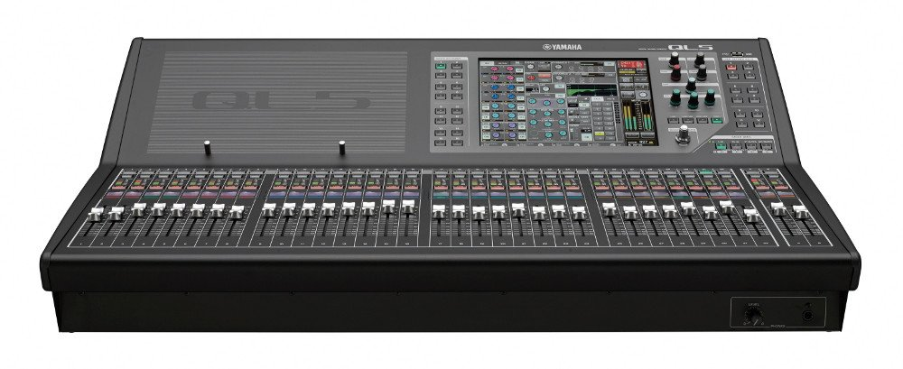 32-Input, 16-Output Digital Mixing Console with Dante Networking and Dugan Automixing
